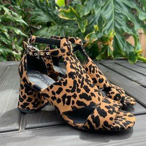 Topshop Leopard heel